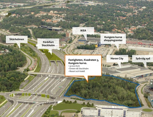 Sveriges modernaste resort skapas i Kungens kurva